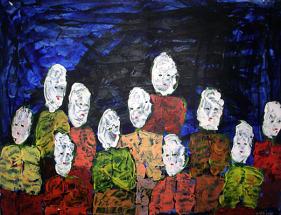 Malerei Begegnungen06