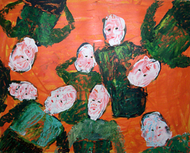 Malerei Begegnungen07