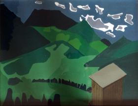 Malerei Berge01