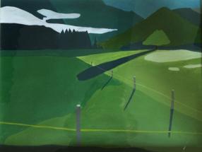 Malerei Berge02