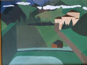 Malerei Berge03