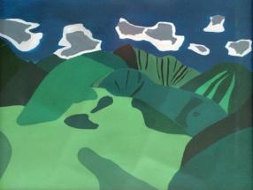Malerei Berge05