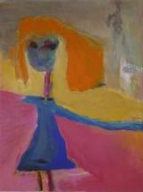 Matrosenmädchen, Acryl auf Leinwand, 30cm x 40cm, 2002